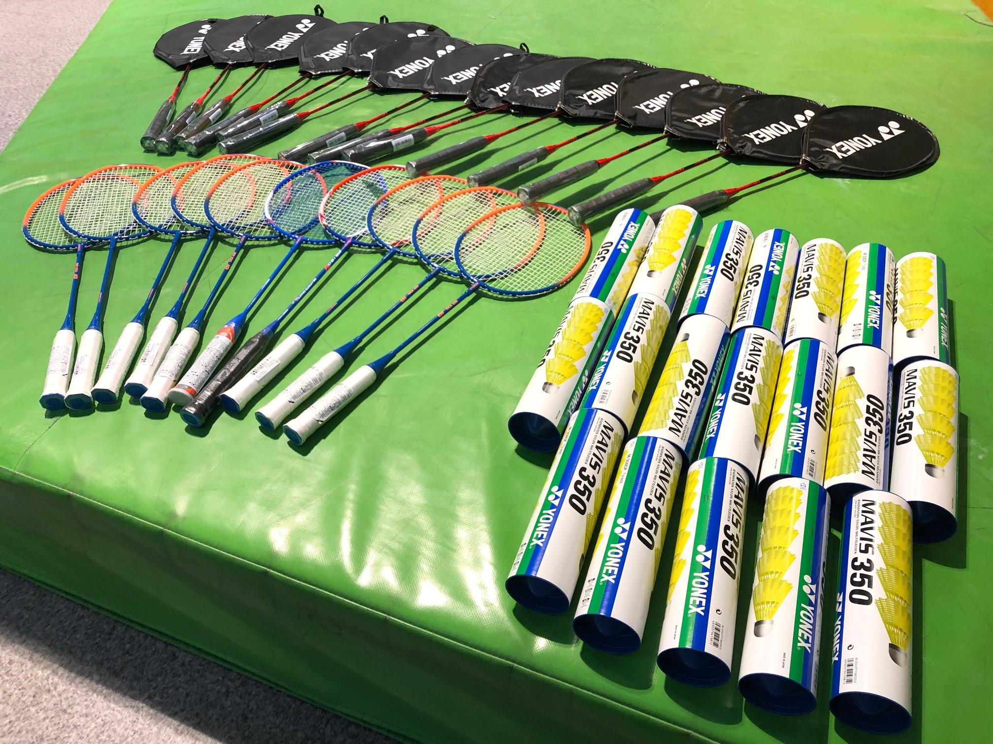 Dotarł nowy sprzęt do Badmintona