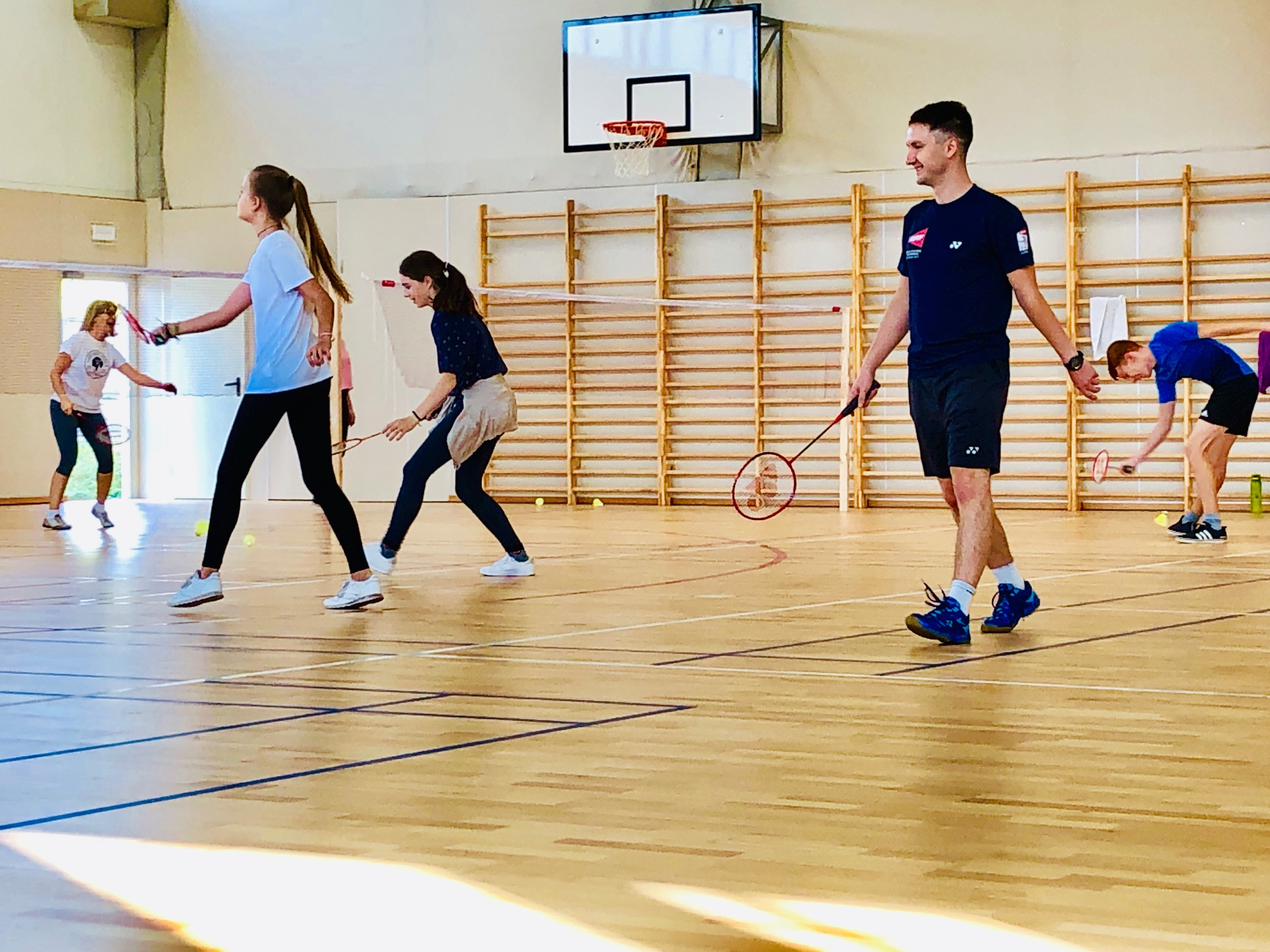 Nowy nabór na zajęcia Badmintona
